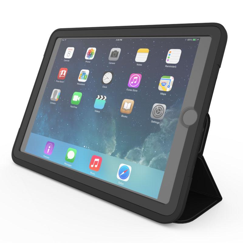 Zagg Rugged Messenger Case Noir Ipad 9 7 Quot Etui Tablette