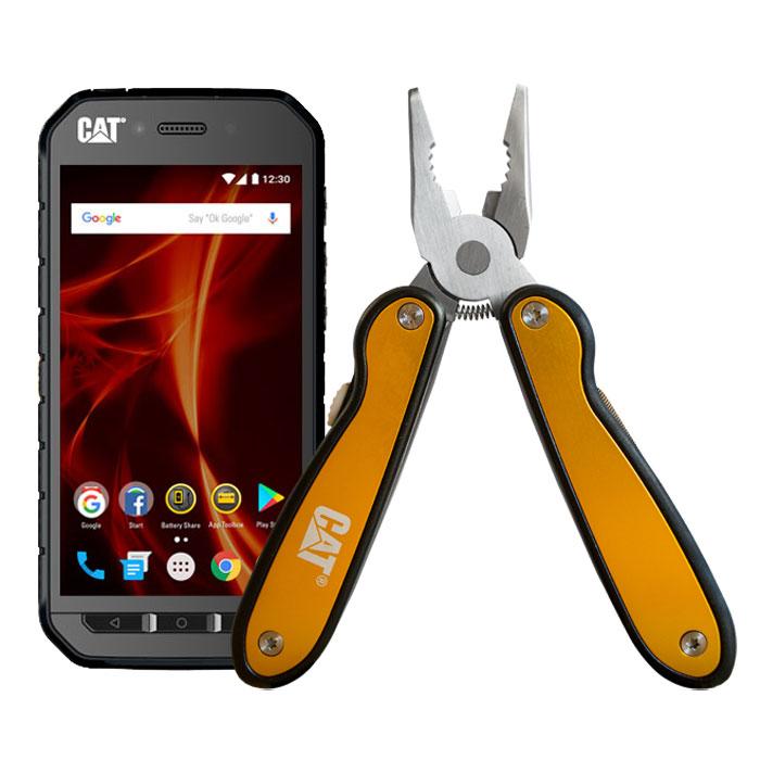 Caterpillar CAT S41 + Multi-Tool OFFERT ! Smartphone 4G-LTE IP68 Dual SIM -  MediaTek MT6757 8-Core 2.3 GHz - RAM 3 Go - Ecran tactile IPS 5