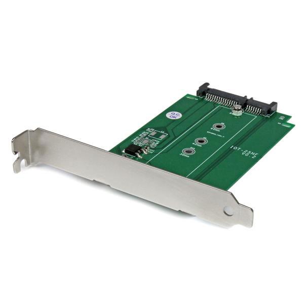 Serial ATA StarTech S32M2NGFFPEX Adaptateur M.2 SATA vers SATA (compatible M.2 2230/2242/2260/2280)