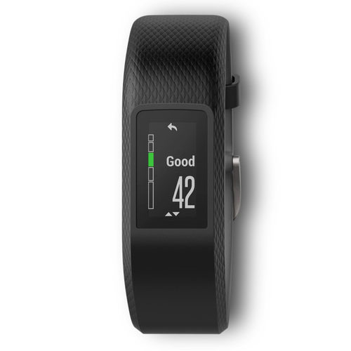 garmin v vosport gris small medium bracelet connect garmin sur. Black Bedroom Furniture Sets. Home Design Ideas