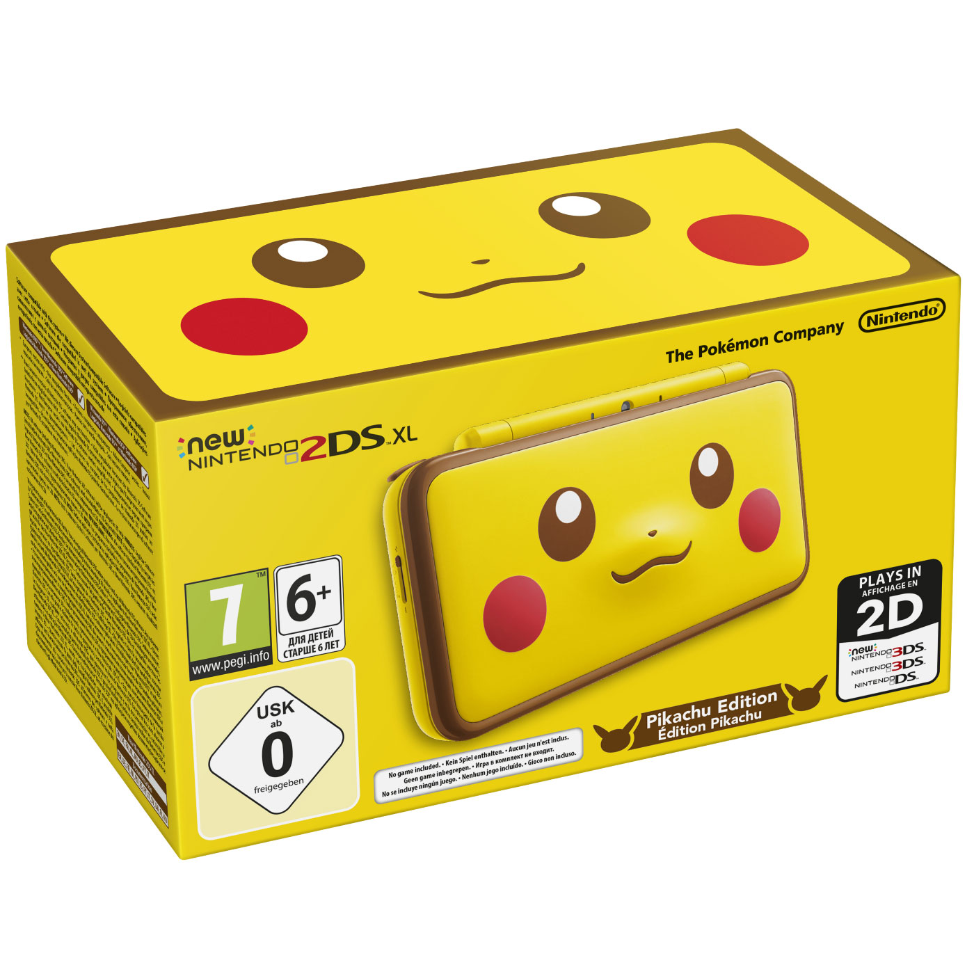 Nintendo new 2ds xl pikachu limited edition console nintendo 3ds nintendo sur - Console de jeux portable tactile ...