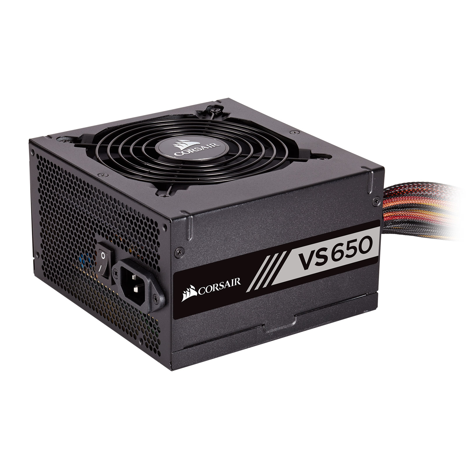 Alimentation PC Corsair Builder Series VS650 80PLUS V2 Alimentation 650W ATX 12V 2.31 (Garantie 3 ans par Corsair)