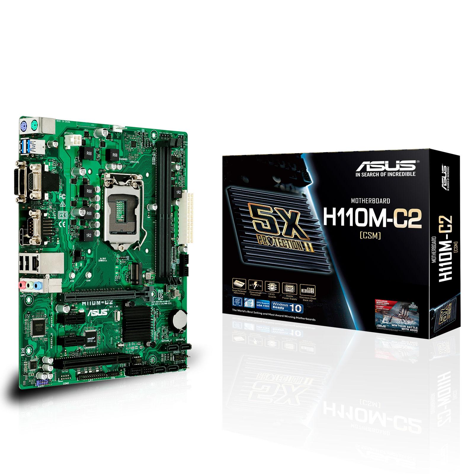 ASUS H110M-C2/CSM - Carte mère ASUS sur LDLC.com