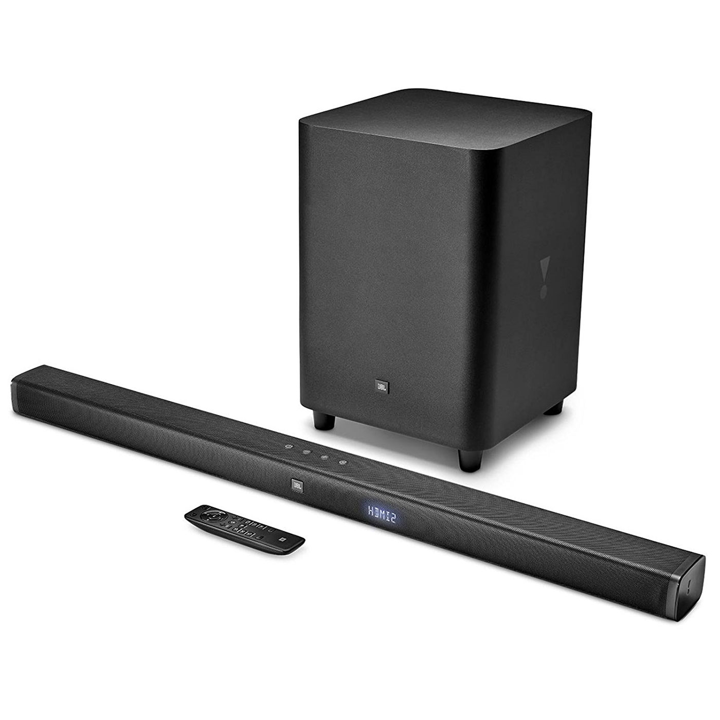 Barre de son JBL Bar 3.1 Barre de son 3.1 Ultra HD 4K 450W - Bluetooth - HDMI/USB - Caisson de basses sans fil