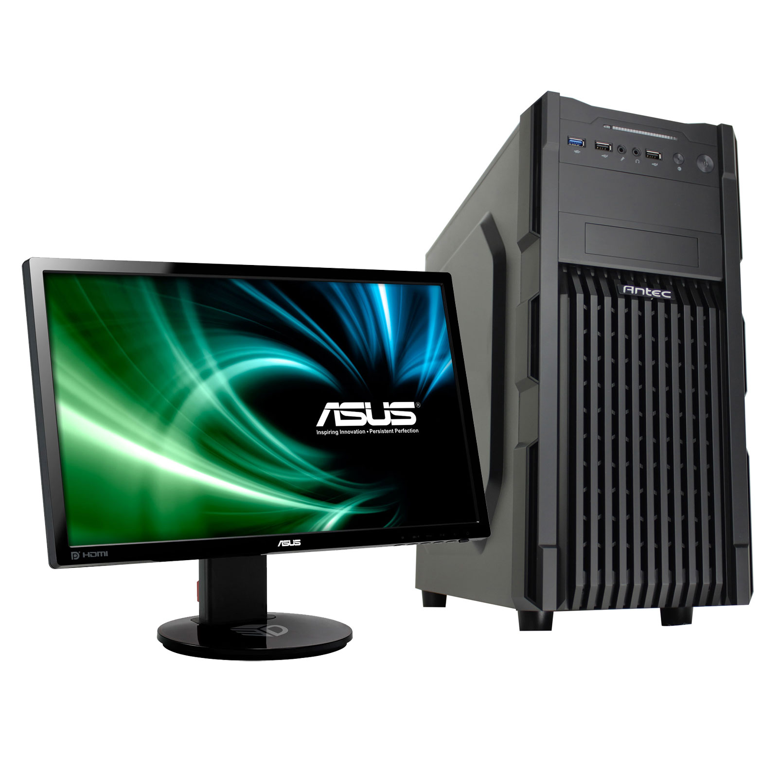 Ldlc pc fortress asus 24 led 3d vg248qe pc de - Afficher ordinateur sur bureau windows 8 ...