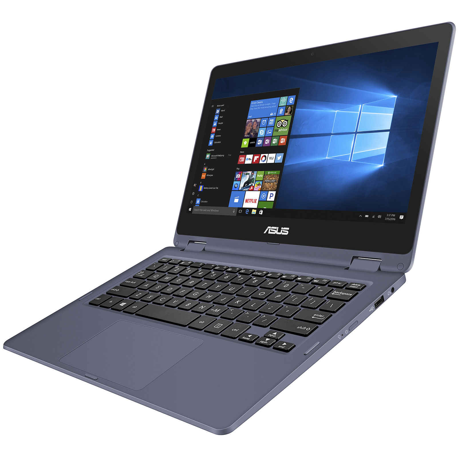 asus laptop tp202na eh008ts pc portable asus sur. Black Bedroom Furniture Sets. Home Design Ideas