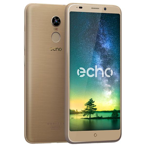 "Mobile & smartphone Echo Horizon Lite Or Smartphone 4G-LTE Dual SIM - MediaTek MT6737 Quad-core 1.3 GHz - RAM 2 Go - Ecran tactile 5.7"" 720 x 1440 - 16 Go - Bluetooth 4.0 - 3000 mAh - Android 7.0"