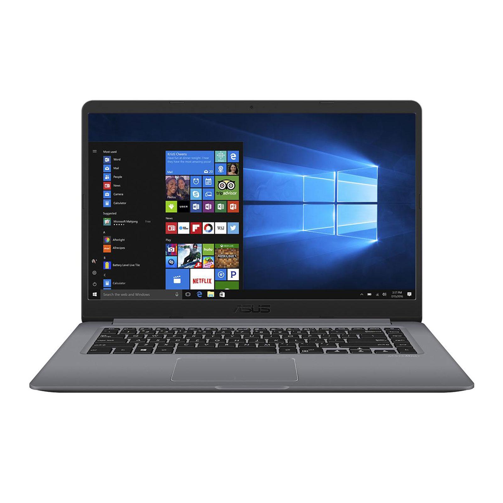 """PC portable ASUS Vivobook S15 S501UA-EJ1201T Intel Core i5-8250U 8 Go SSD 128 Go + HDD 1 To 15.6"""" LED Full HD Wi-Fi AC/Bluetooth Webcam Windows 10 Famille 64 bits (garantie constructeur 2 ans)"""