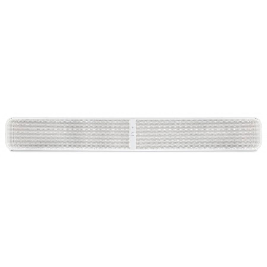 Barre de son Bluesound Pulse Soundbar Blanc Barre de son 120W Hi-Res Audio Wi-Fi, Ethernet et Bluetooth AptX