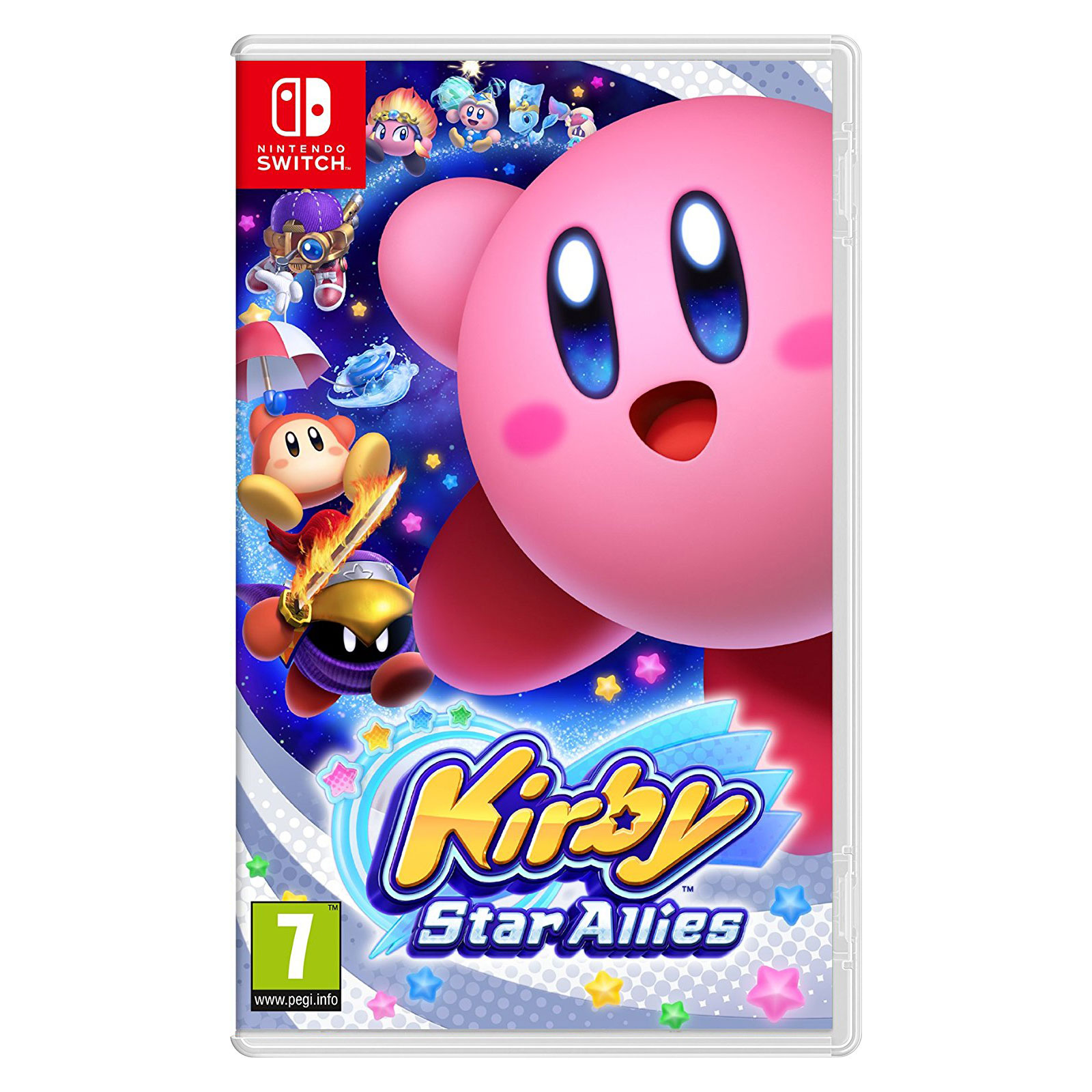 kirby star allies switch jeux nintendo switch. Black Bedroom Furniture Sets. Home Design Ideas