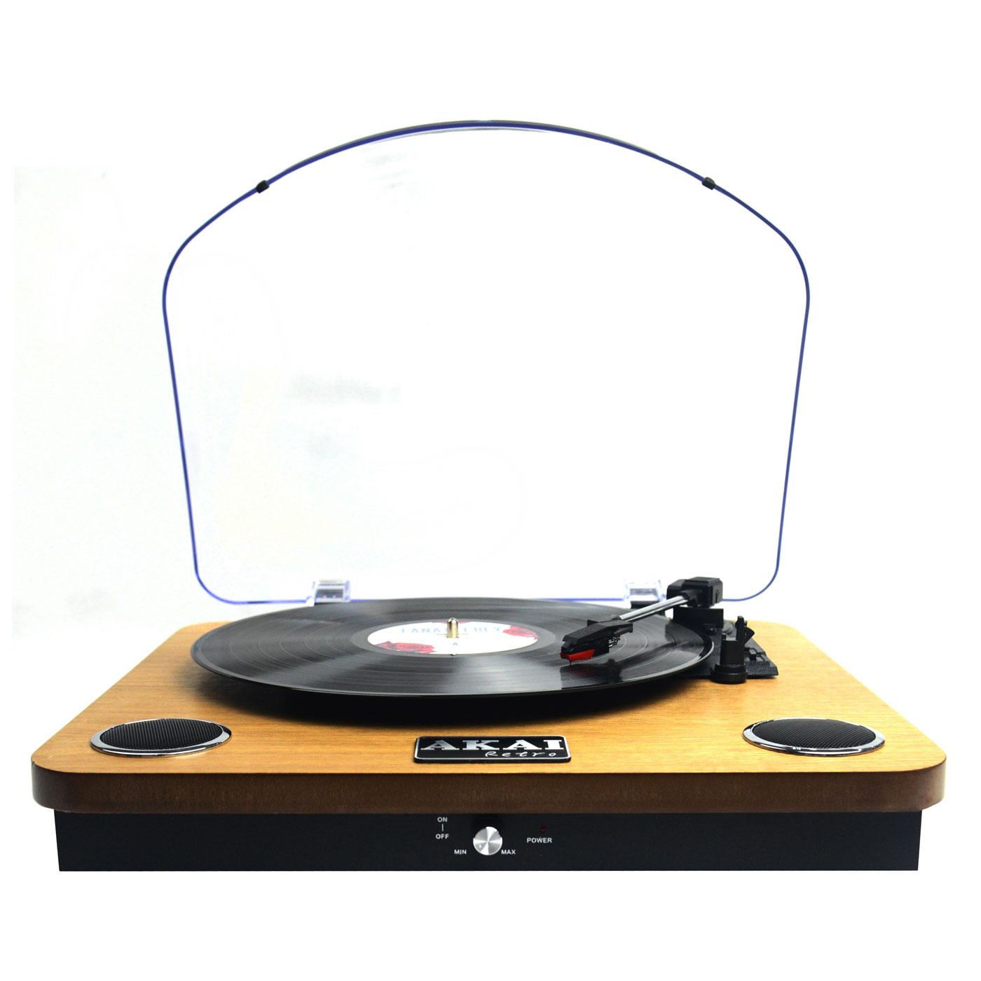 akai cstp09 bois platine vinyle aka sur. Black Bedroom Furniture Sets. Home Design Ideas