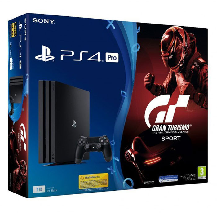 sony playstation 4 pro 1 to gran turismo sport console ps4 sony interactive entertainment. Black Bedroom Furniture Sets. Home Design Ideas