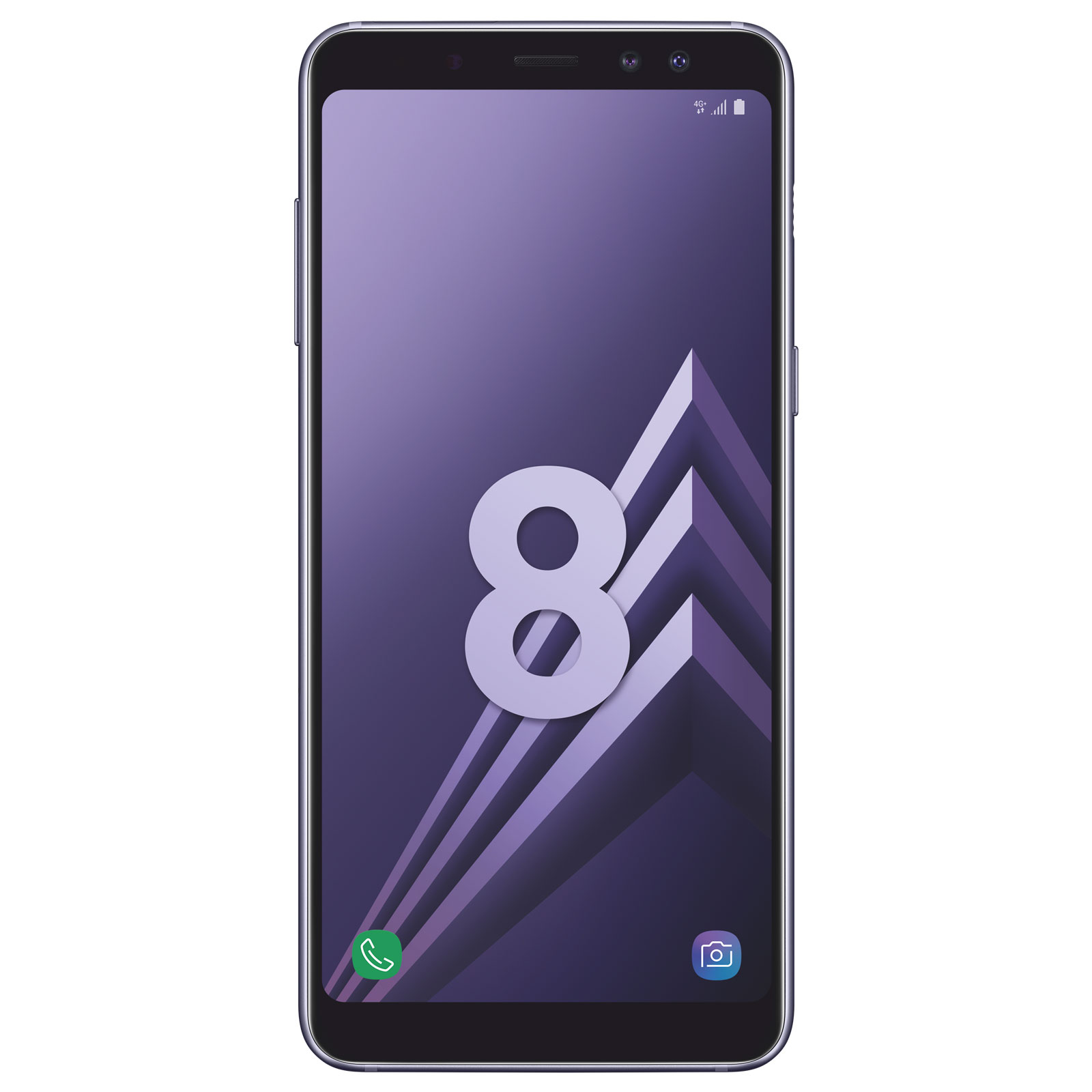 """Mobile & smartphone Samsung Galaxy A8 Orchidée Smartphone 4G-LTE Advanced IP68 Dual SIM - Exynos 7885 8-Core 2.2 Ghz - RAM 4 Go - Ecran tactile 5.6"""" 1080 x 2220 - 32 Go - NFC/Bluetooth 5.0 - 3000 mAh - Android 7.1"""