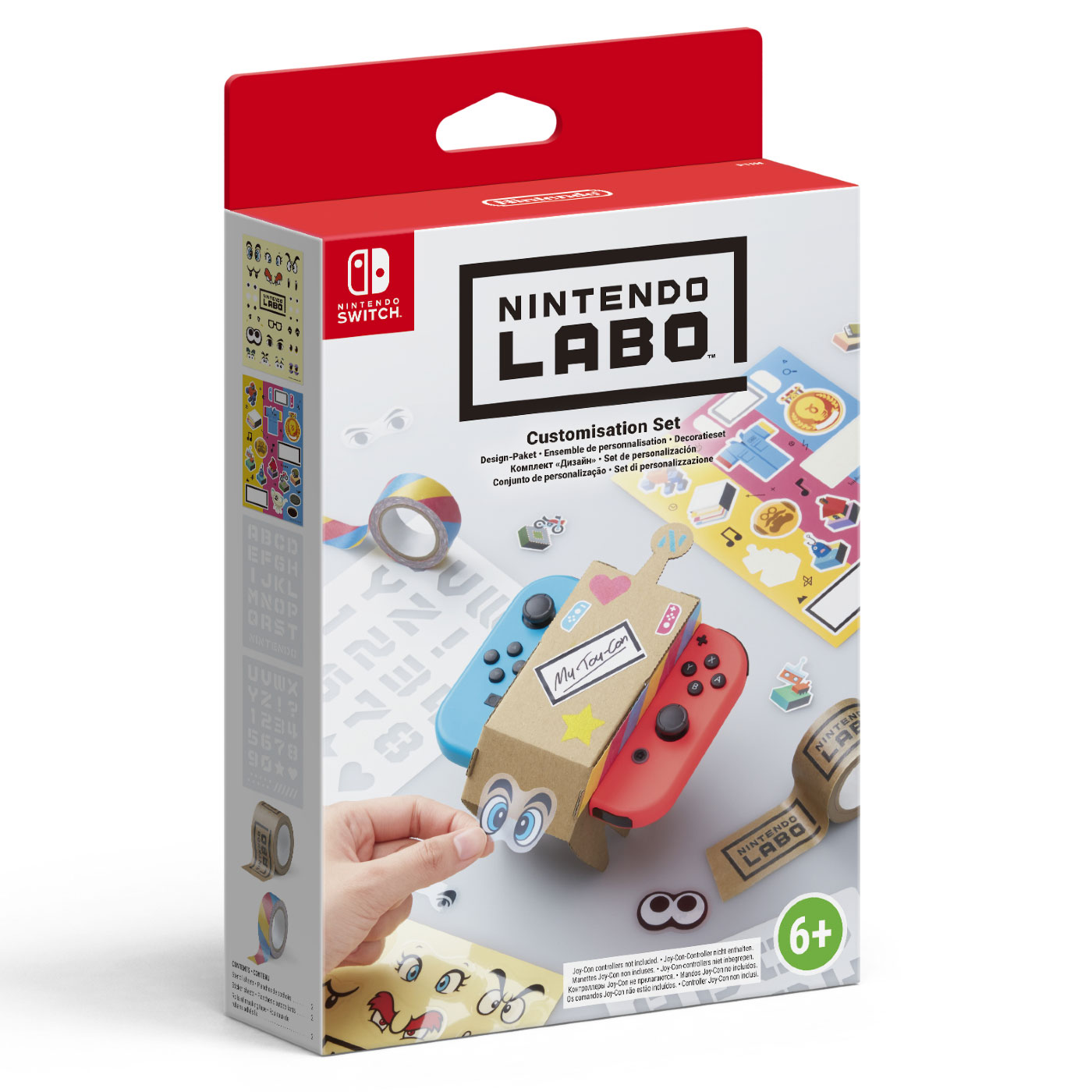 nintendo labo ensemble de personnalisation accessoires nintendo switch nintendo sur. Black Bedroom Furniture Sets. Home Design Ideas