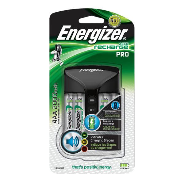 Energizer accu pro charger pile chargeur energizer sur - Chargeur de piles intelligent ...