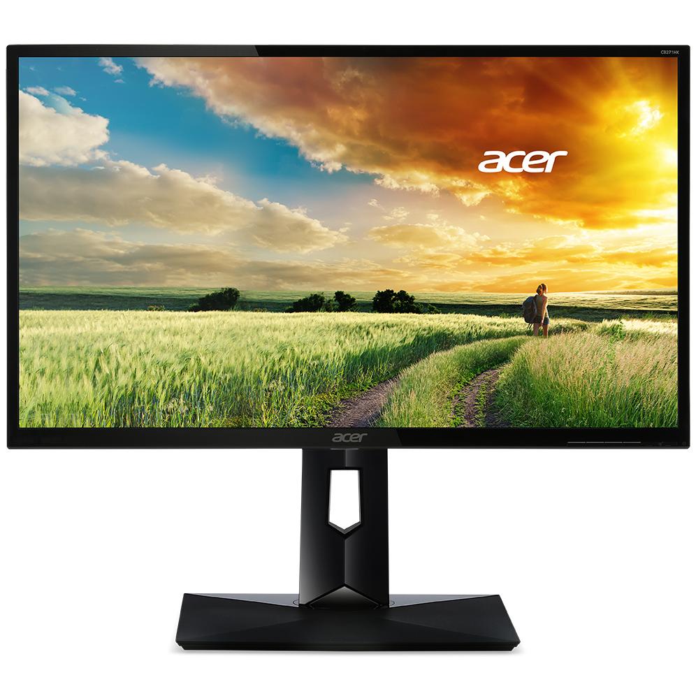 """Ecran PC Acer 27"""" LED - CB271HBbmidr 1920 x 1080 pixels - 4 ms (gris à gris) - Format 16/9 - HDMI - Noir (Garantie constructeur 3 ans)"""