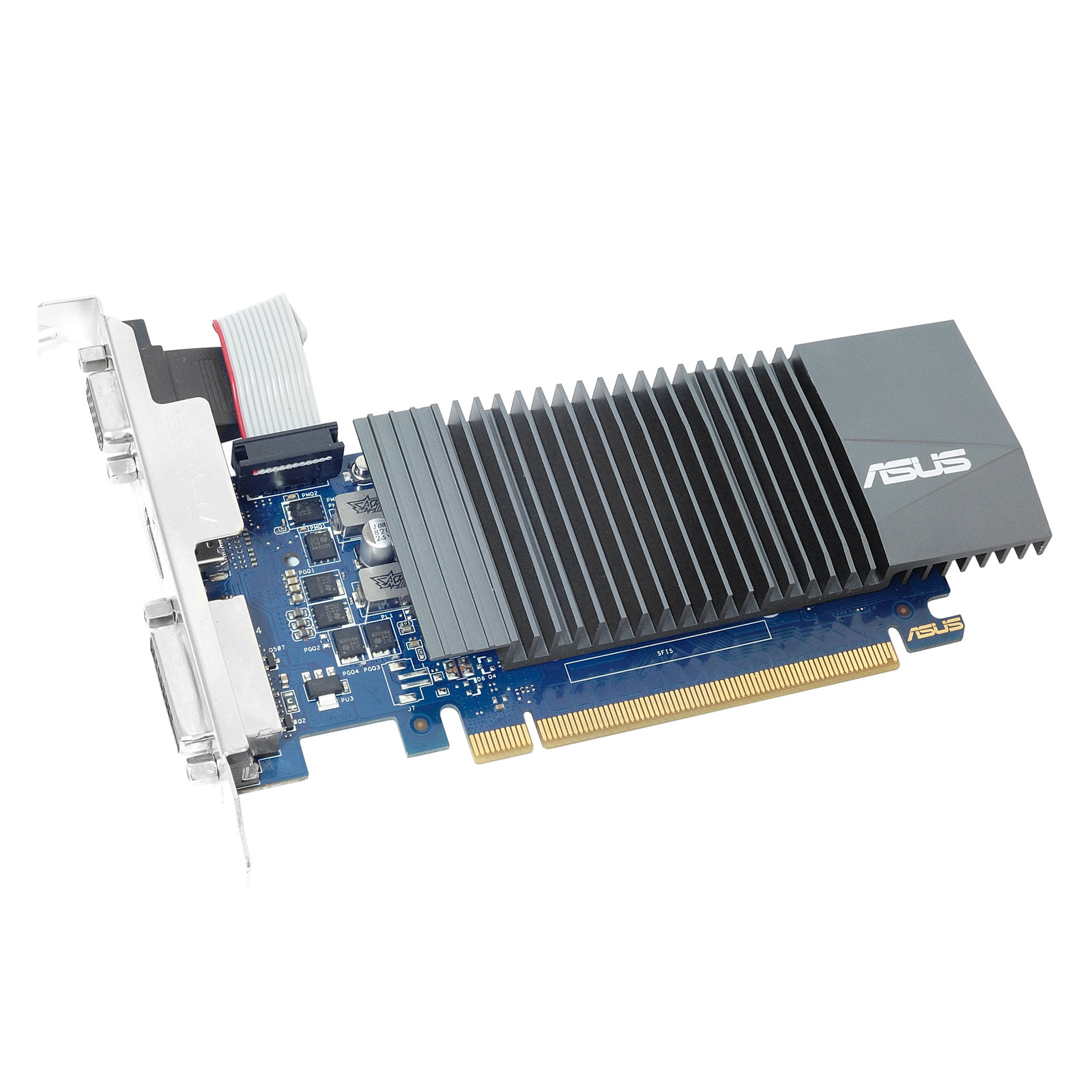 Carte graphique Asus GeForce GT710-SL-2GD5-BRK 2 Go HDMI/DVI - PCI Express (NVIDIA GeForce avec CUDA GT 710)