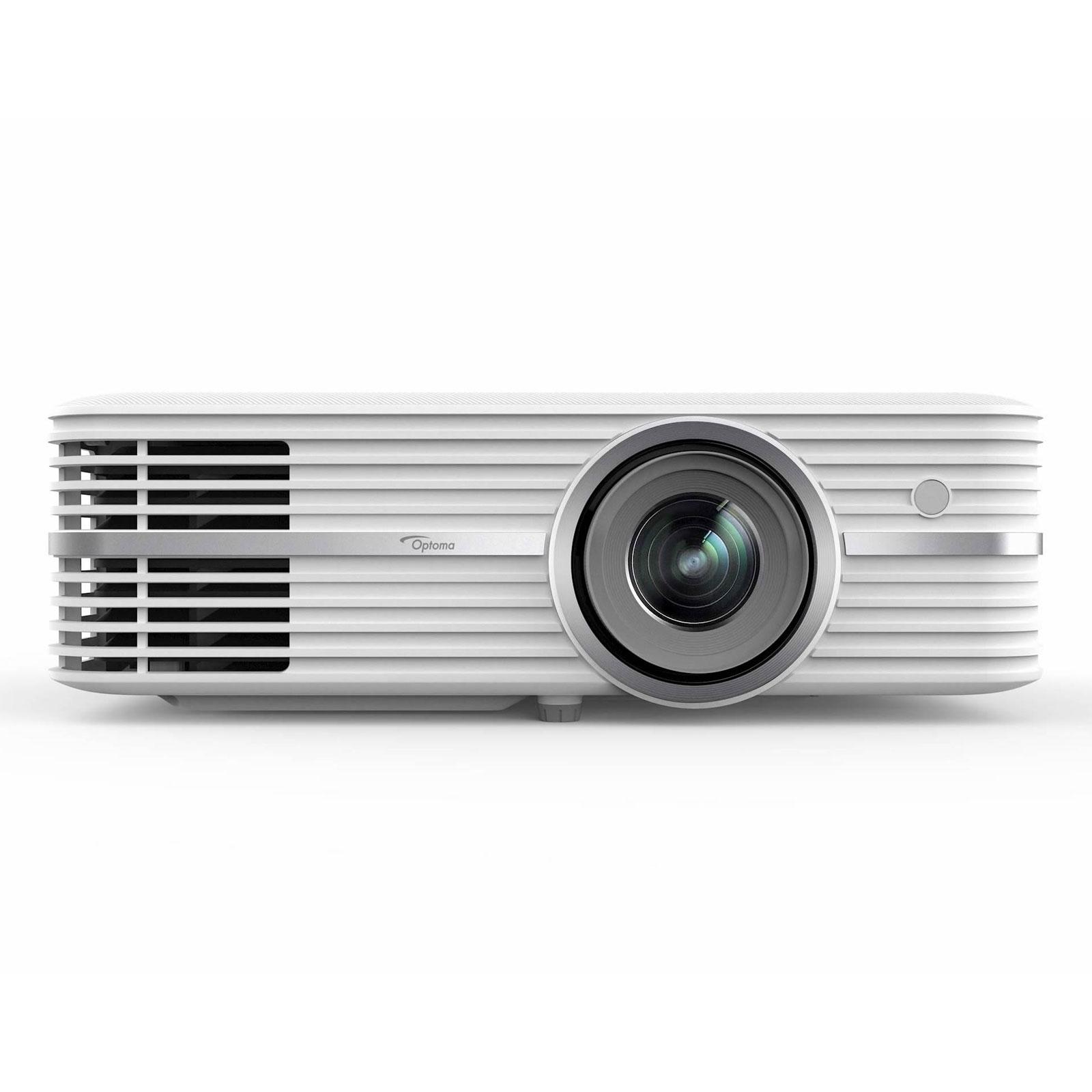 Vidéoprojecteur Optoma UHD300X Vidéoprojecteur 4K UHD - DLP - 2200 ANSI lumens - Compatibilité HDR - Lens Shift vertical - HDMI 2.0 - HDCP 2.2 - 2 x 5 Watts