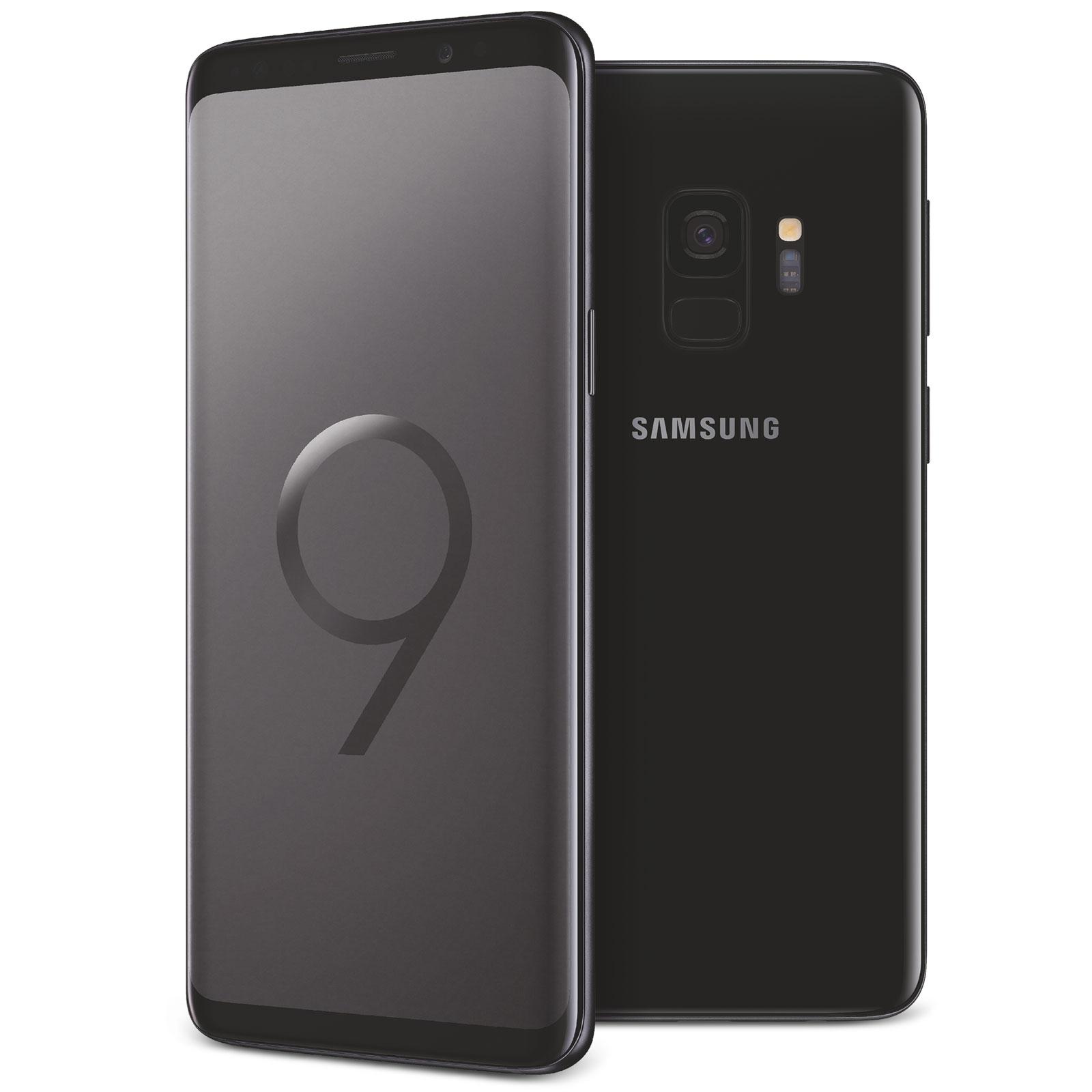 "Mobile & smartphone Samsung Galaxy S9 SM-G960F Noir Carbone 64 Go Smartphone 4G-LTE Advanced IP68 - Exynos 9810 8-Core 2.7 GHz - RAM 4 Go - Ecran tactile 5.8"" 1440 x 2960 - 64 Go - NFC/Bluetooth 5.0 - 3000 mAh - Android 8.0"