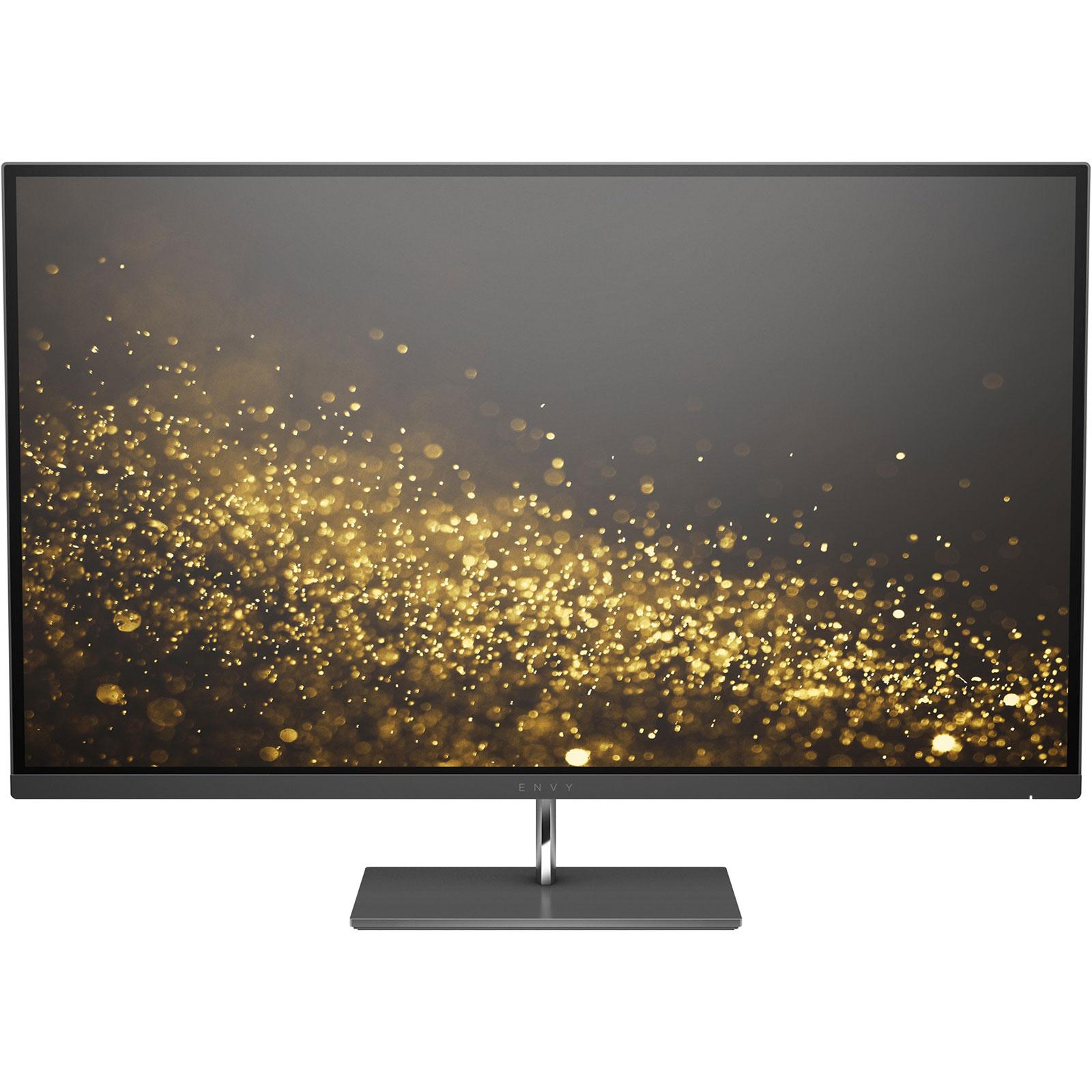 """Ecran PC HP 27"""" LED - ENVY 27s 3840 x 2160 pixels - 5 ms (gris à gris) - Format large 16/9 - Dalle IPS - FreeSync - DisplayPort - HDMI - Noir"""