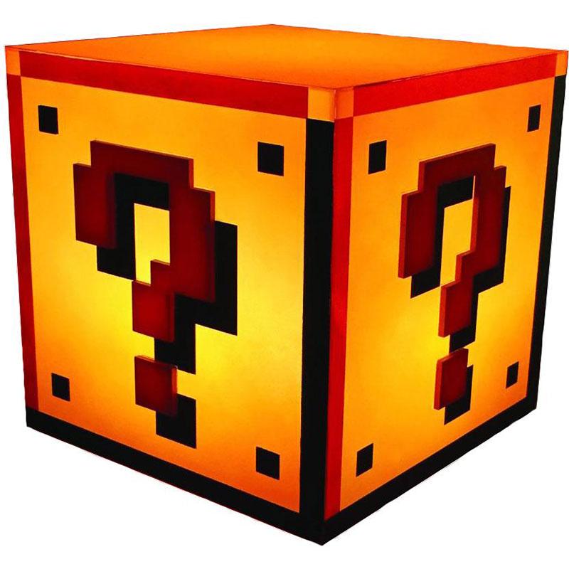Lampe Super Mario Question Block Goodies Generique Sur Ldlc Com