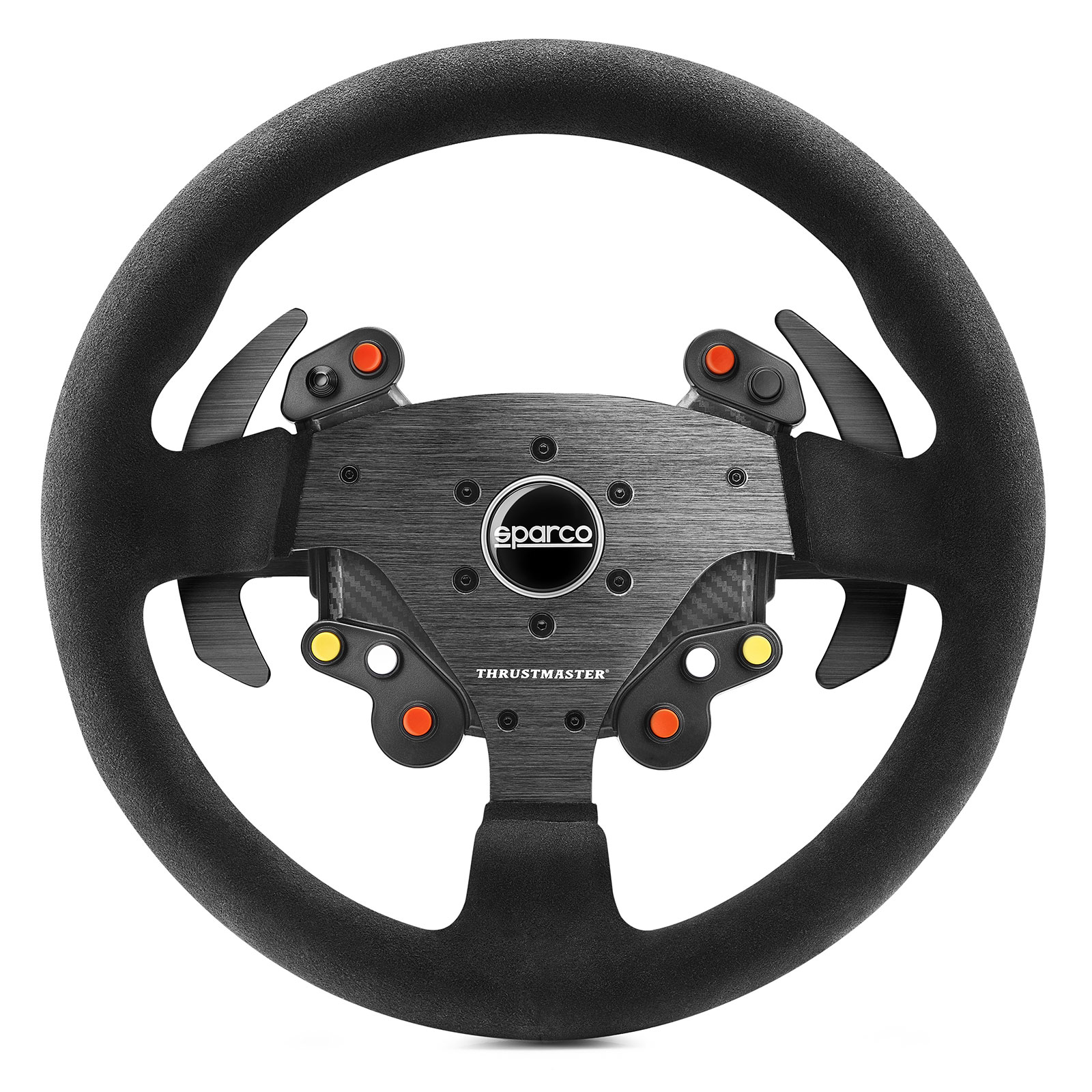 thrustmaster rally wheel add on sparco r383 mod volant pc thrustmaster sur. Black Bedroom Furniture Sets. Home Design Ideas
