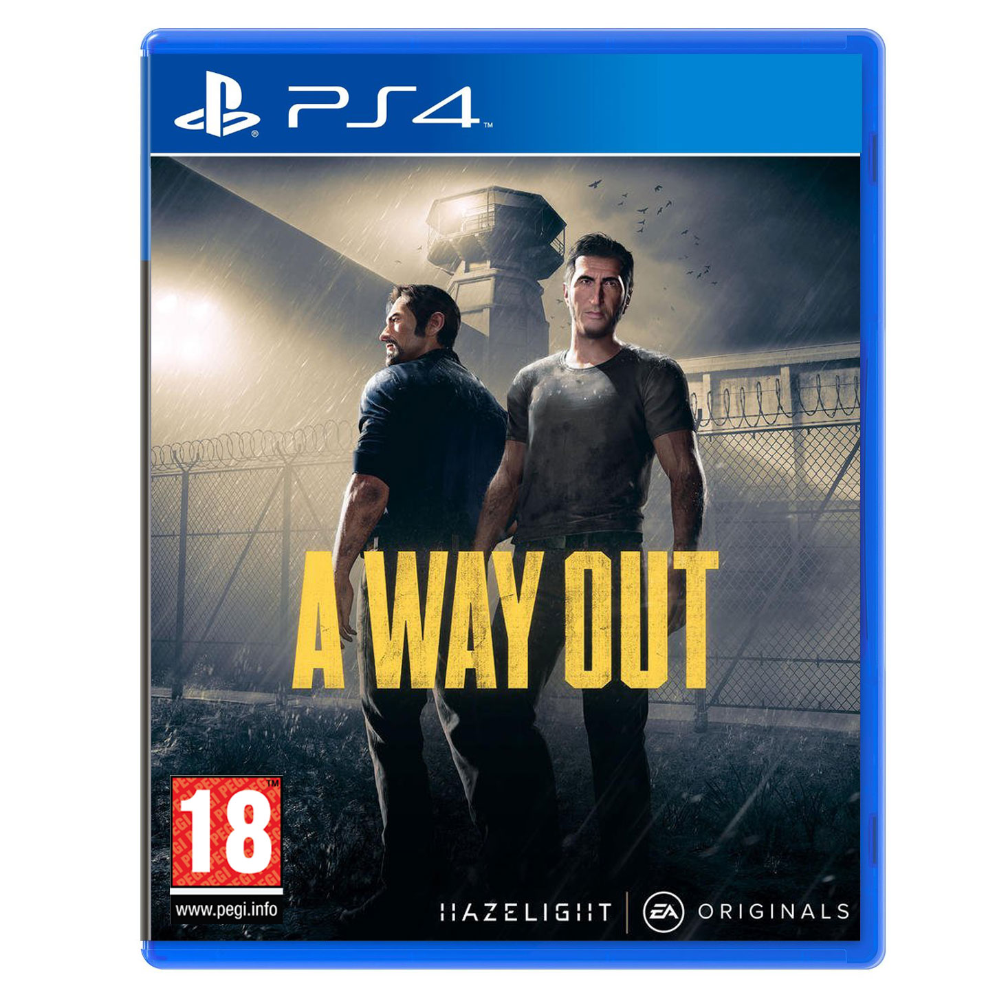 a way out ps4 jeux ps4 hazelight studios sur. Black Bedroom Furniture Sets. Home Design Ideas
