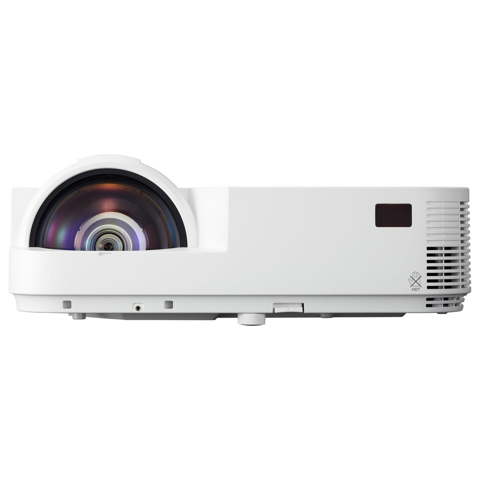 Vidéoprojecteur NEC M353WS Vidéoprojecteur DLP WXGA 3500 Lumens - Focale courte - VGA/HDMI/USB/RJ45 - 3D Ready (garantie constructeur 3 ans sur site / lampe 6 mois ou 1000h)