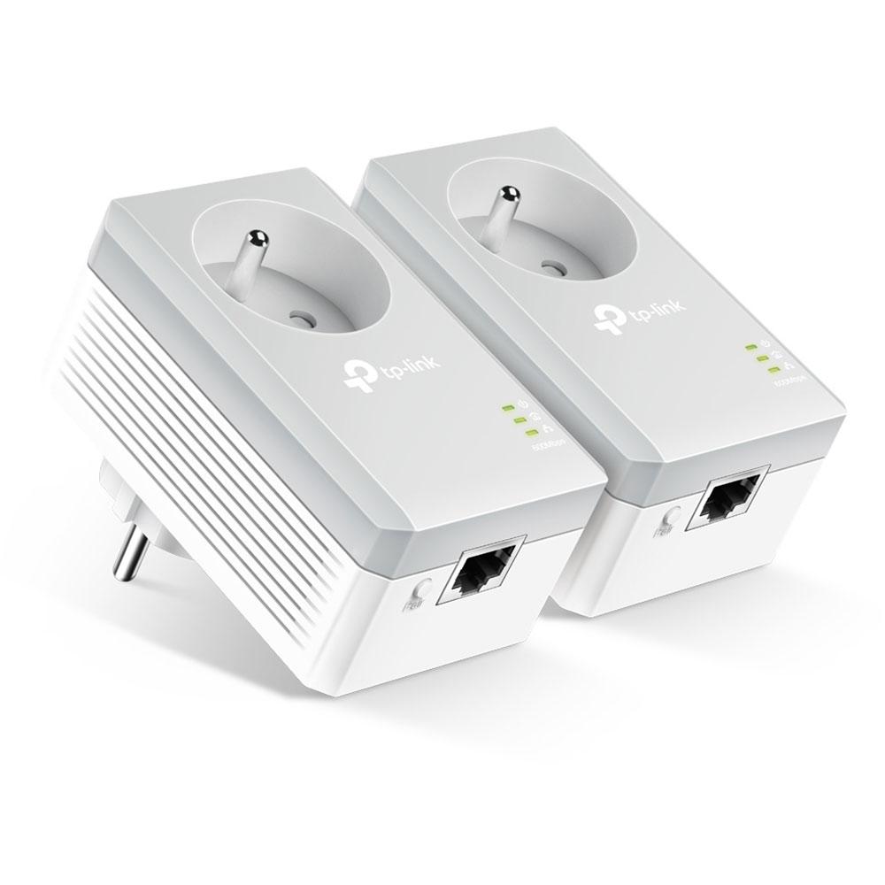 CPL TP-LINK TL-PA4015PKIT Pack de 2 adaptateurs CPL HomePlug AV 600 Mbps + prise électrique