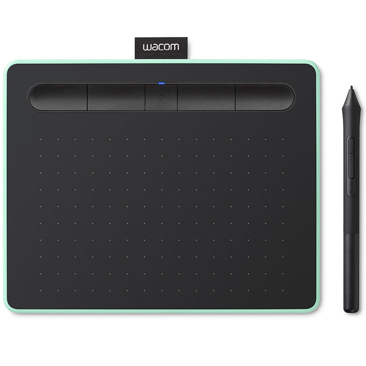 wacom intuos m avec bluetooth pistache tablette graphique wacom sur. Black Bedroom Furniture Sets. Home Design Ideas