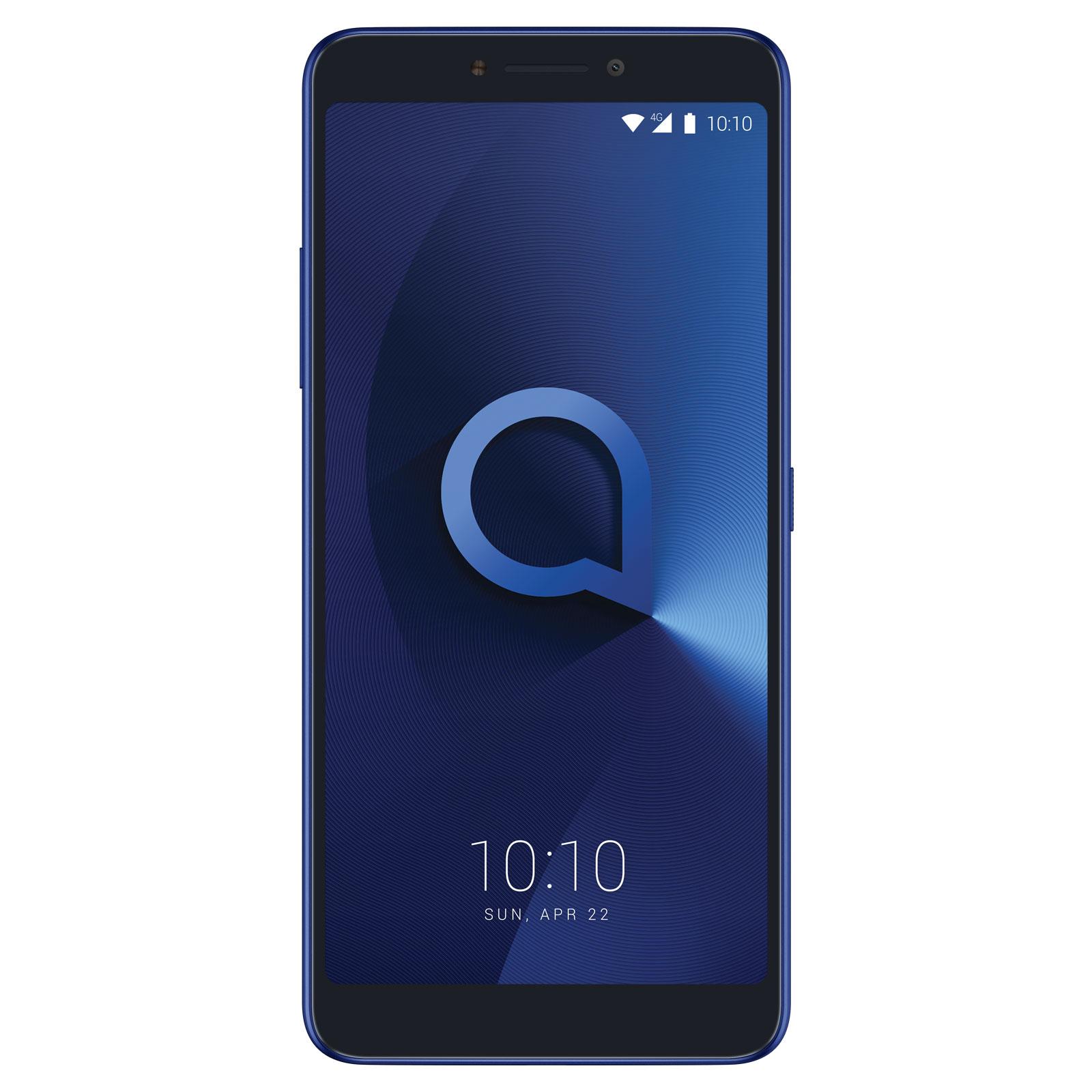 """Mobile & smartphone Alcatel 3v Bleu Smartphone 4G-LTE Dual SIM - MediaTek MT8735A Quad-Core 1.4 GHz - RAM 2 Go - Ecran tactile 6"""" 1080 x 2160 - 16 Go - Bluetooth 4.2 - 3000 mAh - Android 8.0"""