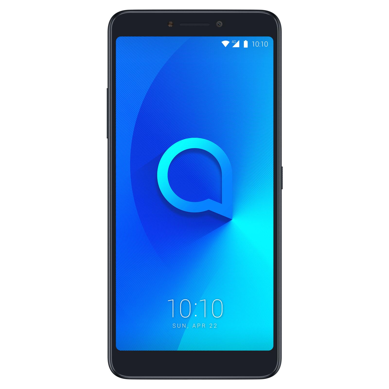 "Mobile & smartphone Alcatel 3v Noir Smartphone 4G-LTE Dual SIM - MediaTek MT8735A Quad-Core 1.4 GHz - RAM 2 Go - Ecran tactile 6"" 1080 x 2160 - 16 Go - Bluetooth 4.2 - 3000 mAh - Android 8.0"