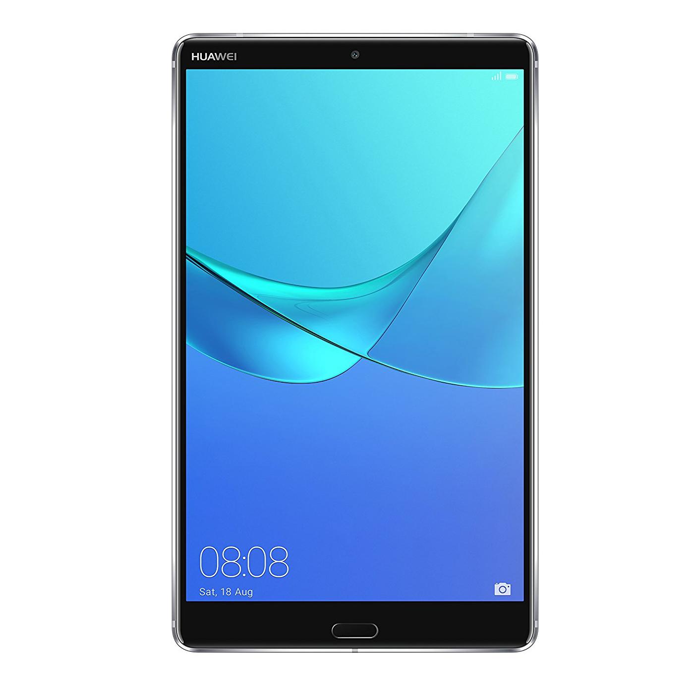 "Tablette tactile Huawei MediaPad M5 8.4"" Gris Wi-Fi Tablette Internet - Kirin 960 8-Core 2.4 GHz - RAM 4 Go - 32 Go - Écran IPS 8.4"" 2K - Wi-Fi/Bluetooth 4.2 - Webcam - Android 8.0"