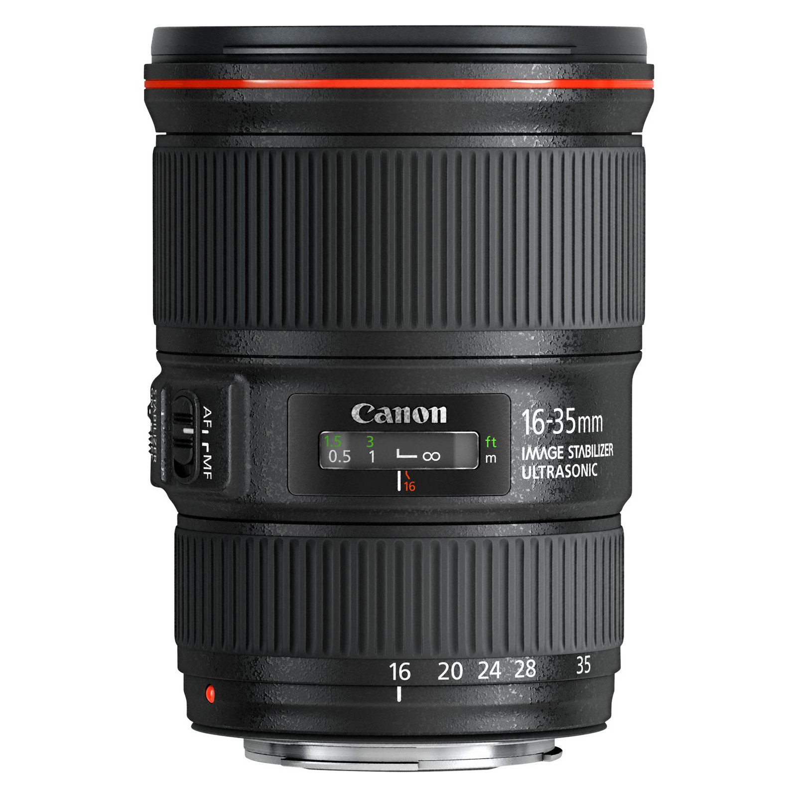 Objectif appareil photo Canon EF 16-35mm f/4L IS USM Zoom ultra grand-angle stabilisé
