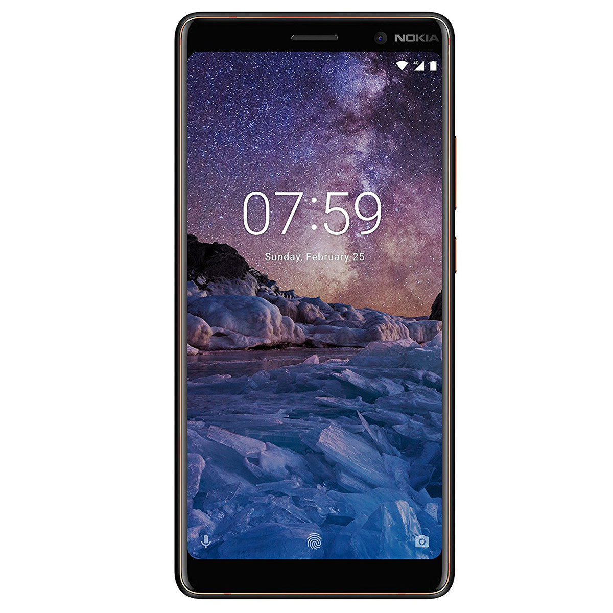 "Mobile & smartphone Nokia 7 plus Noir Smartphone 4G-LTE Advanced Dual Sim - Snapdragon 660 8-core 2.2 GHz - RAM 4 Go - Ecran tactile 6"" 1080 x 2160 - 64 Go - NFC/Bluetooth 5.0 - 3800 mAh - Android 8.0"