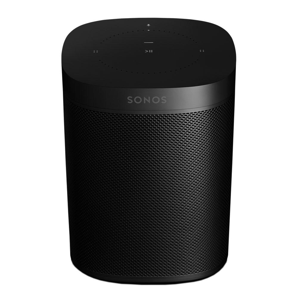 Enceintes Hifi SONOS One Noir Enceinte multiroom sans fil avec assistant vocal Amazon Alexa