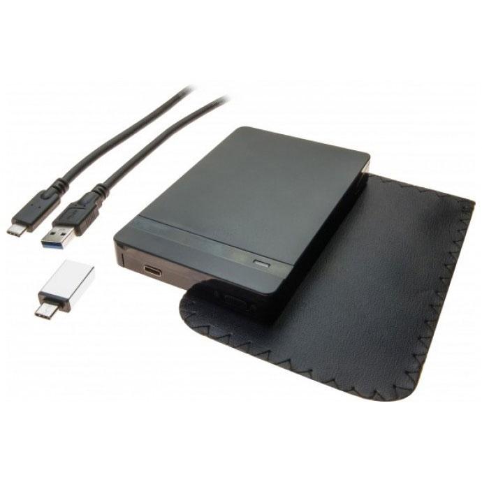 642587252d48a4 Boîtier disque dur Dexlan boîtier externe Type-C USB 3.1 Gen.1 disque 2.5