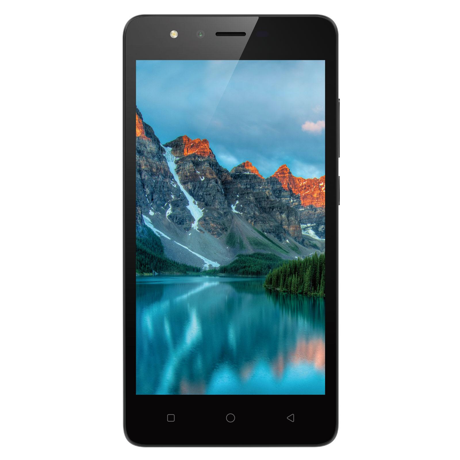 "Mobile & smartphone Neffos C5A Gris Smartphone 3G Dual SIM - MediaTek MT6580M Quad-Core 1.3 GHz - RAM 1 Go - Ecran tactile 5"" 480 x 854 - 8 Go - Bluetooth 4.0 - 2300 mAh - Android 7.0"