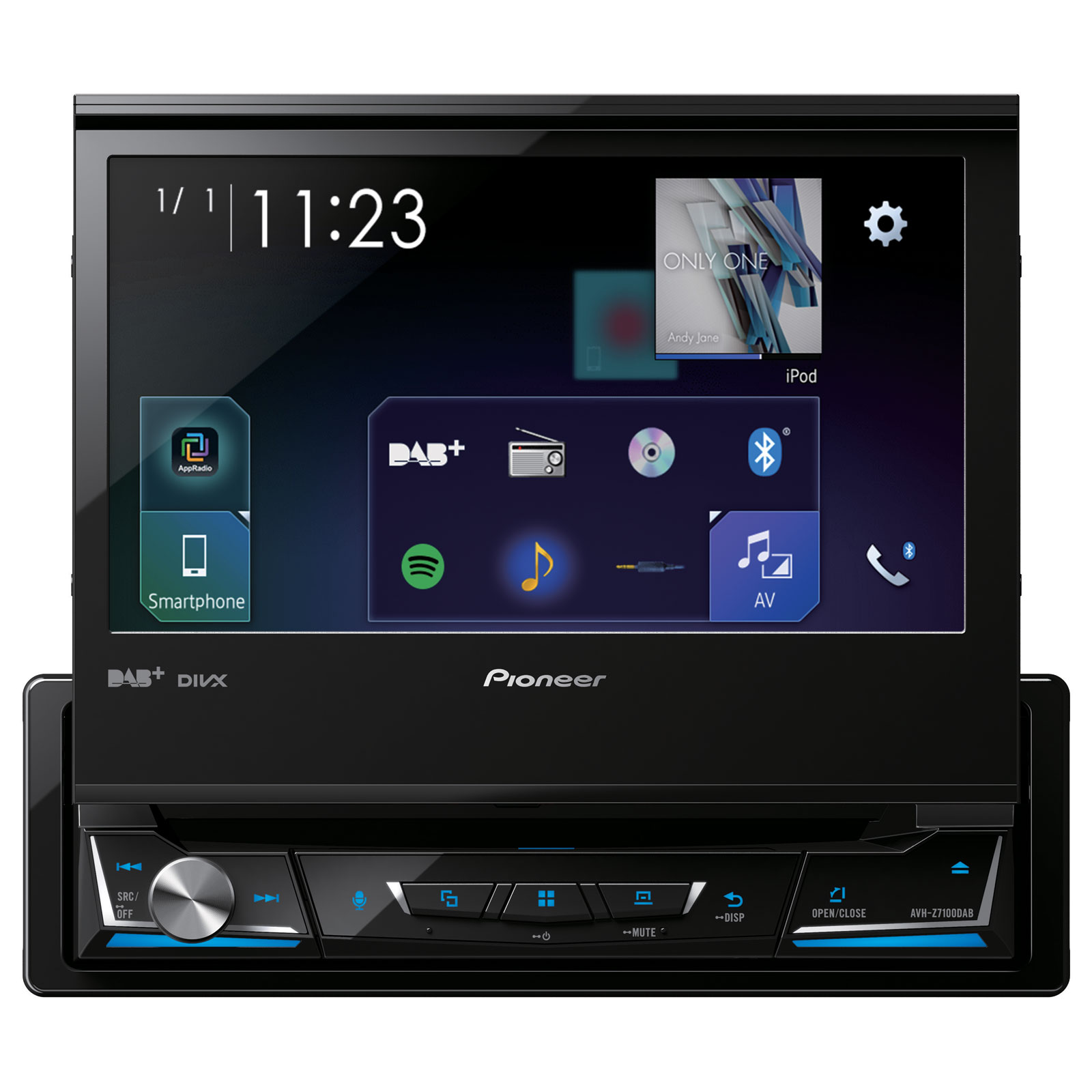pioneer avh z7100dab autoradio pioneer sur. Black Bedroom Furniture Sets. Home Design Ideas