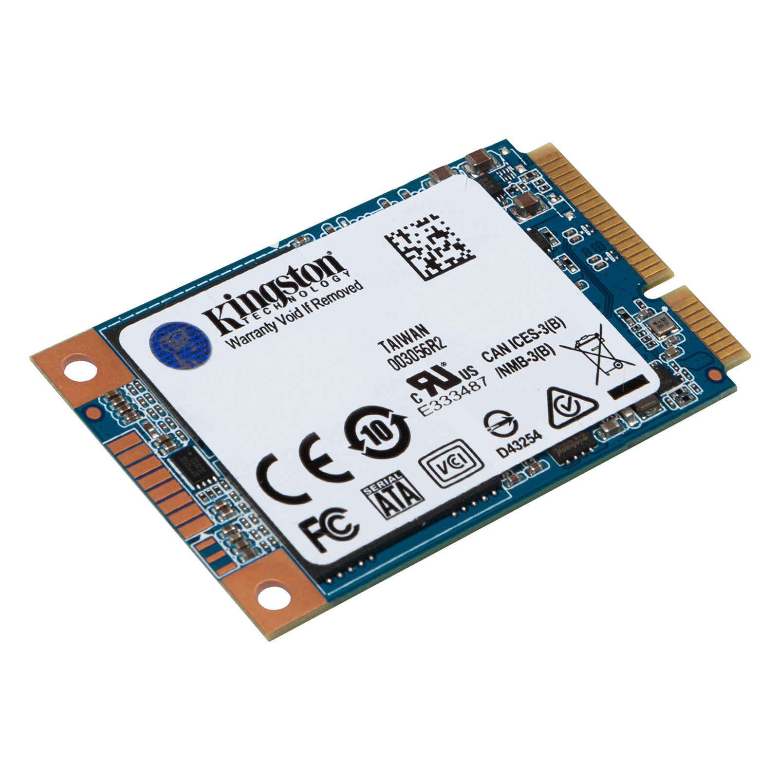 Disque SSD Kingston SSD UV500 mSATA 480 Go SSD 480 Go mSATA 6Gb/s