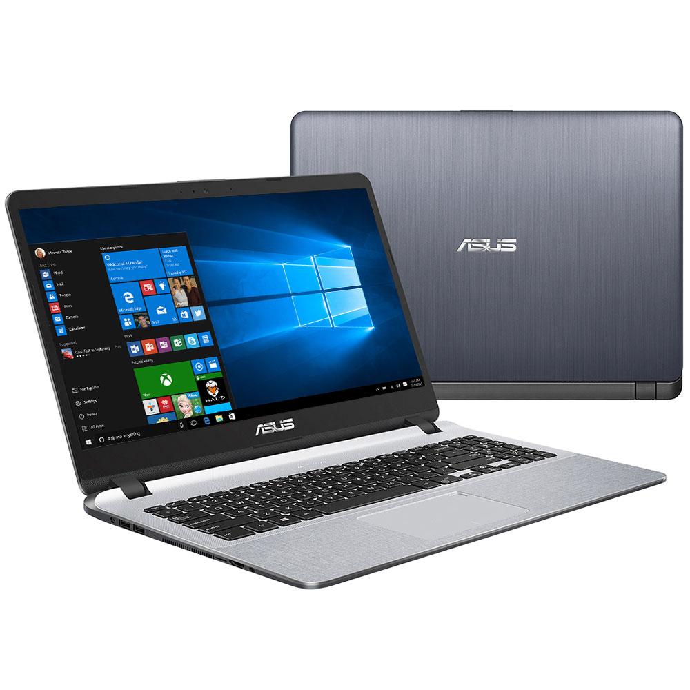 "PC portable ASUS VivoBook R507UA-EJ507T Intel Core i3-8130U 8 Go SSD 128 Go + HDD 1 To 15.6"" LED Full HD Wi-Fi N/Bluetooth Webcam Windows 10 Famille 64 bits (garantie constructeur 2 ans)"