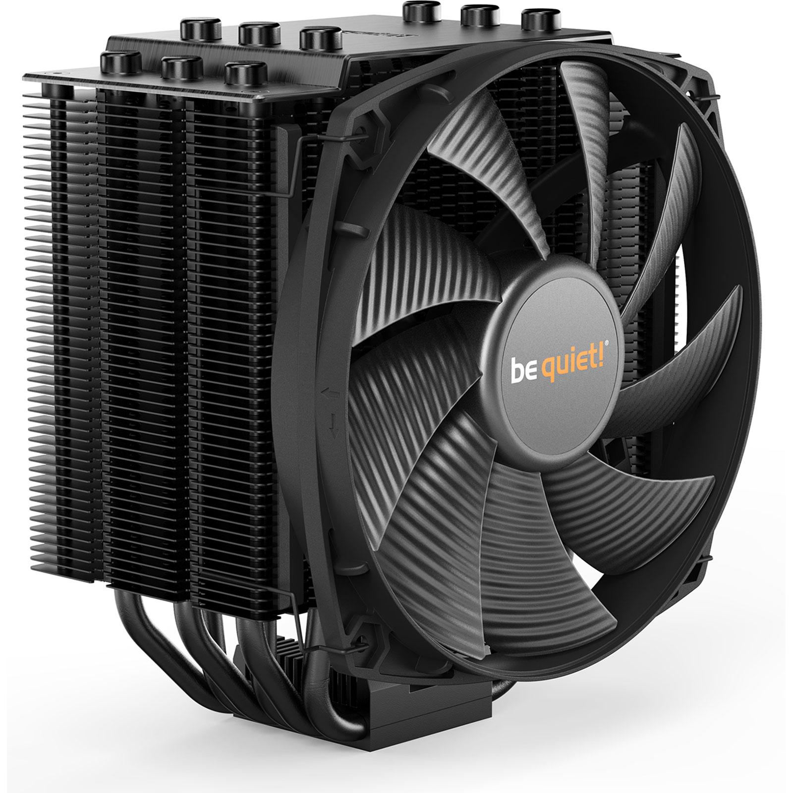 Ventilateur processeur be quiet! Dark Rock 4 Ventilateur de processeur (pour Socket AMD AM2/AM2+/AM3/AM3+/AM4/FM1/FM2 et INTEL LGA 1150/1151/1155/1156/1366/2011)