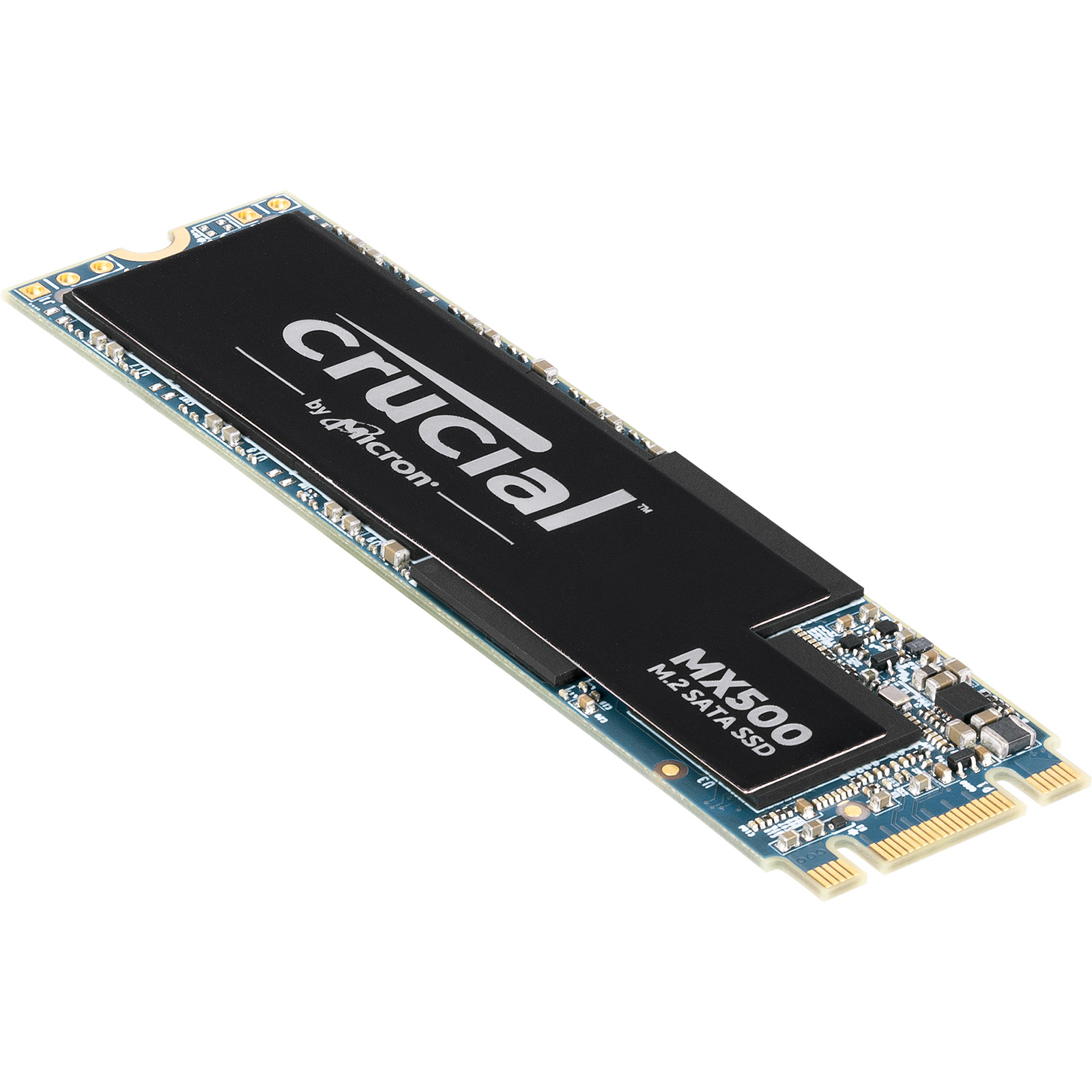 Disque SSD Crucial MX500 1 To M.2 Type 2280 SSD 1 To M.2 SATA 6Gb/s Type 2280