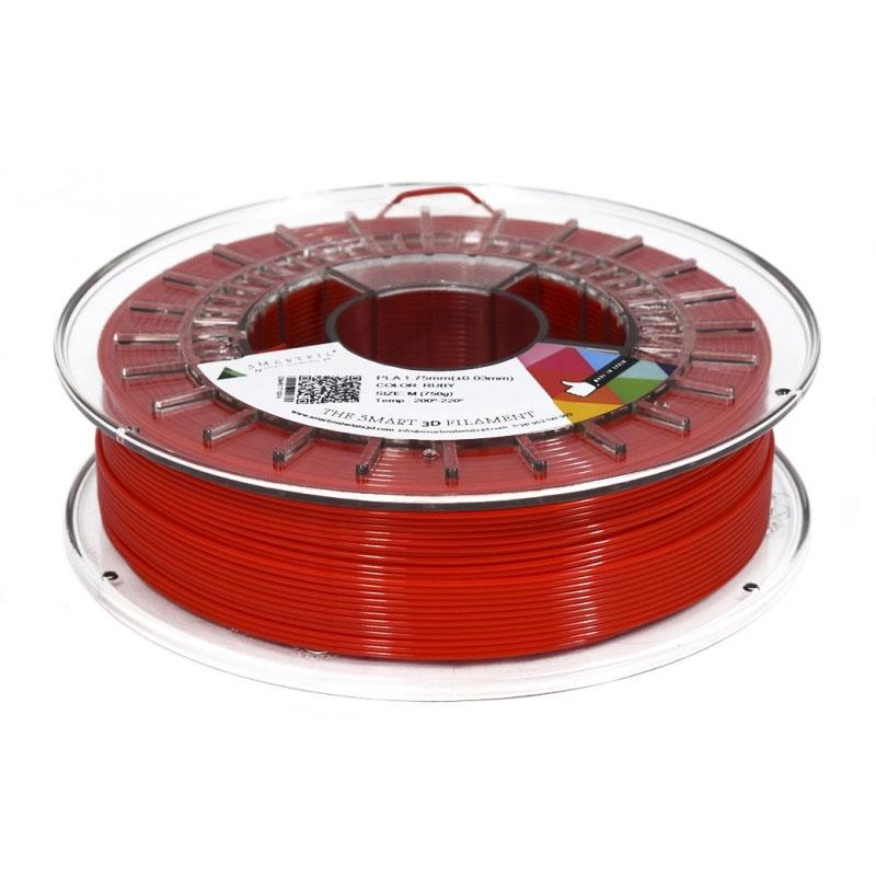 Filament 3D Smartfil Bobine PLA 1.75mm 750g - Rouge Bobine 1.75mm pour imprimante 3D