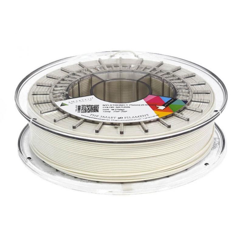Filament 3D Smartfil Bobine Nylon 1.75mm 750g - Naturel Bobine 1.75mm pour imprimante 3D