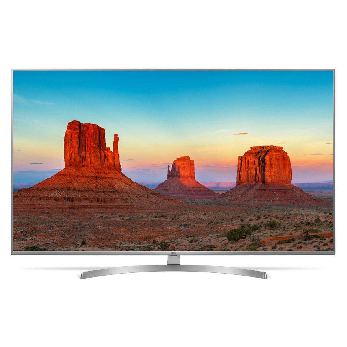 "TV LG 65UK7550 Téléviseur LED 4K 65"" (165 cm) 16/9 - 3840 x 2160 pixels - Ultra HD 2160p - HDR - Wi-Fi - Bluetooth - 100 Hz"