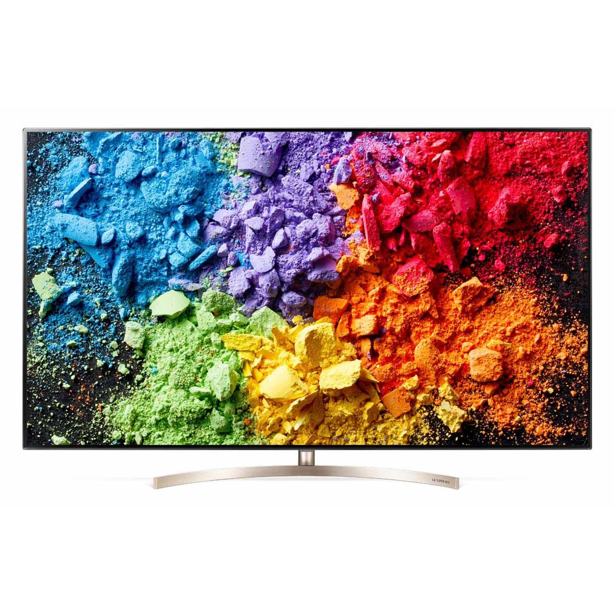 """TV LG 55SK9500 Téléviseur LED 4K 55"""" (140 cm) 16/9 - 3840 x 2160 pixels - Ultra HD 2160p - HDR - Wi-Fi - Bluetooth - 3700 Hz (dalle native 100 Hz)"""