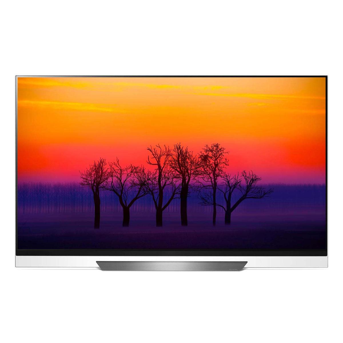 "TV LG OLED55E8 Téléviseur OLED 4K 55"" (140 cm) 16/9 - 3840 x 2160 pixels - Ultra HD 2160p - HDR - Wi-Fi - Bluetooth - Dolby Atmos (dalle native 100 Hz)"