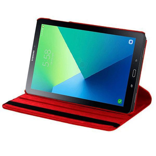 akashi folio galaxy tab a6 10 1 rouge etui tablette. Black Bedroom Furniture Sets. Home Design Ideas