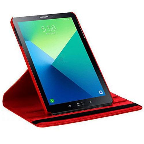 Akashi Etui Folio Galaxy Tab A6 101 Rouge Etui Tablette Akashi